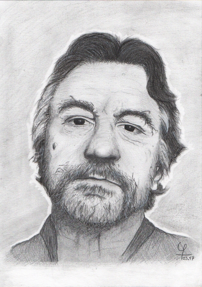 Robert De Niro by Tetell73